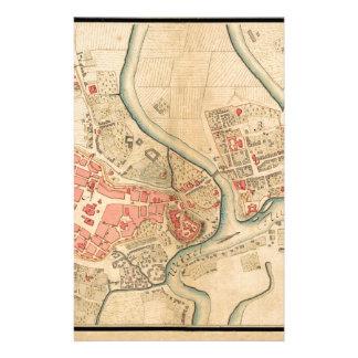 Papelaria Polônia 1755 de Krakow