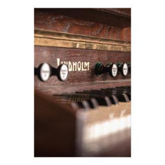 Papelaria Polônia antigo velho da música do instrumento do