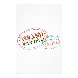 Papelaria Polônia feito lá isso