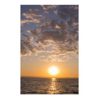 Papelaria Por do sol de Baikal