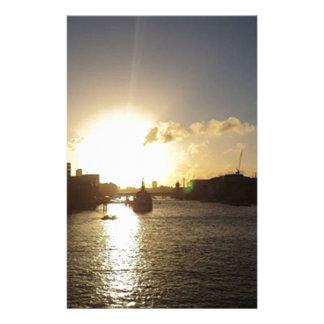 Papelaria Por do sol de Londres
