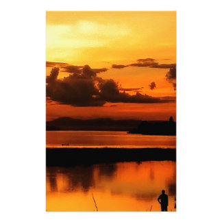 Papelaria Por do sol de Mekong