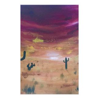 Papelaria Por do sol do deserto