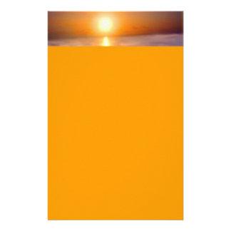 Papelaria Por do sol do oceano