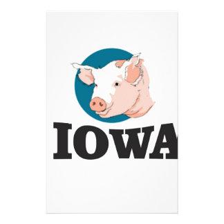 Papelaria porcos de iowa