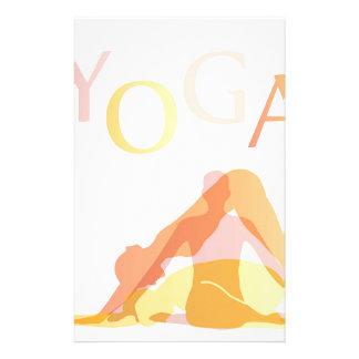 Papelaria Poses da ioga