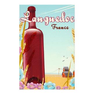 Papelaria Poster de viagens de Languedoc France