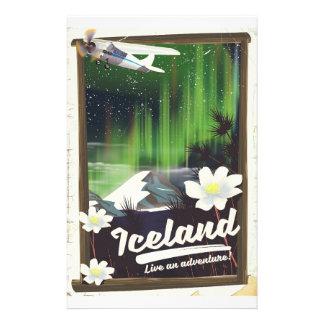 Papelaria Poster de viagens do estilo do vintage da paisagem