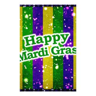 Papelaria Poster feliz do carnaval