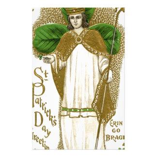 Papelaria Poster velho bonito de patrick de santo