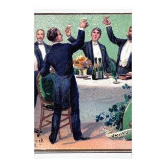 Papelaria Poster vintage original da bebida do dia de