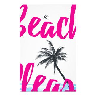 Papelaria praia por favor