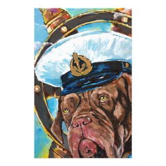 Papelaria Presente de //do cão do marinheiro de //do ano do