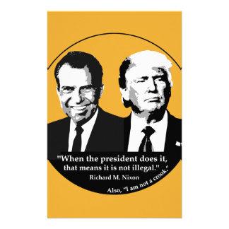 Papelaria Presidente nao ilegal