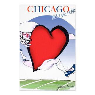 Papelaria Principais de Chicago e coração, fernandes tony