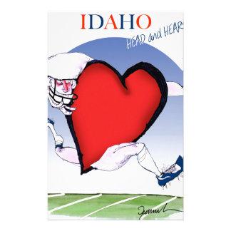 Papelaria Principais de Idaho e coração, fernandes tony