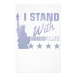 Papelaria Pro camisa da estátua da liberdade da imigração