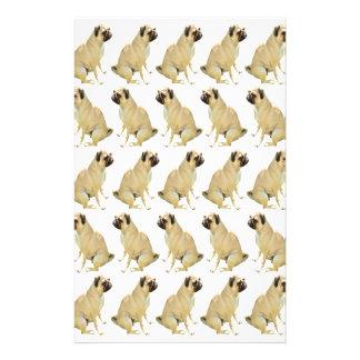 Papelaria Pugs brancos