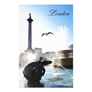 Papelaria Quadrado de Trafalgar em Londres, Reino Unido