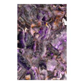 Papelaria quartzo roxo