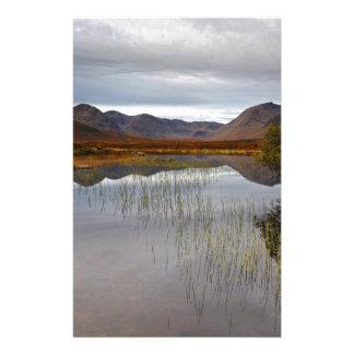 Papelaria Rannoch amarra, Scotland