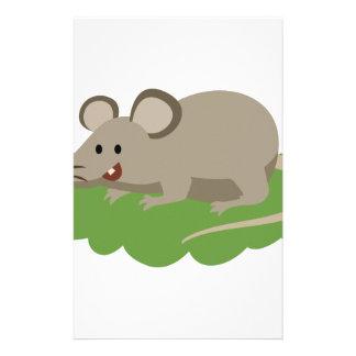 Papelaria rato bonito do rato