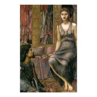 Papelaria Rei Cophetua e empregada doméstica de Edward - de