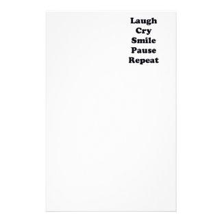Papelaria Repetição do riso