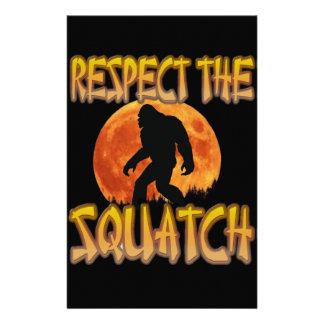 Papelaria Respeite o Squatch