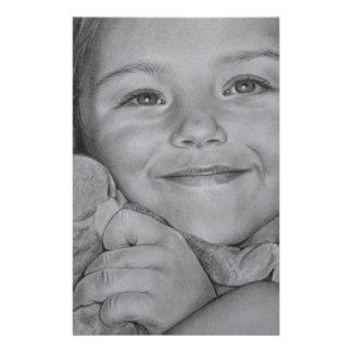 Papelaria Retrato da criança