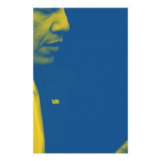 Papelaria Retrato do presidente Barack Obama 38d
