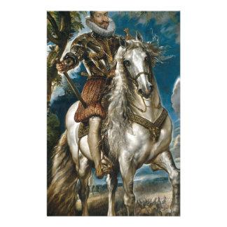Papelaria Retrato equestre do duque de Lerma - Rubens