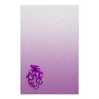 Papelaria Roxo torcido do dragão