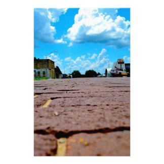 Papelaria Rua principal de cidade pequena