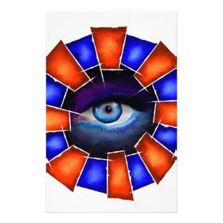 Papelaria Salvenitus - olho de observação