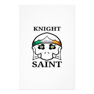 Papelaria Santo do cavaleiro do Dia de São Patrício de