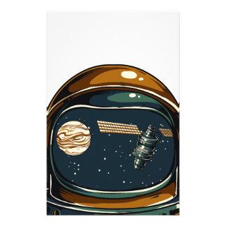 Papelaria satélite da NASA e a lua