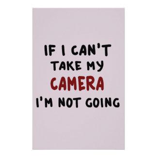 Papelaria Se eu não posso tomar minha câmera…
