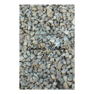 Papelaria Seixos na fotografia da pedra da praia