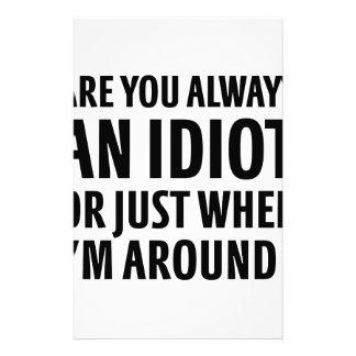 Papelaria Sempre um idiota