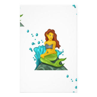 Papelaria sereia do emoji