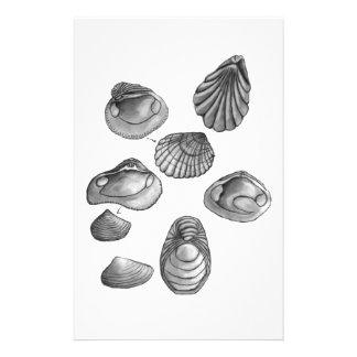 Papelaria Shell esboça