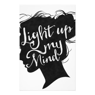 Papelaria Silhouette - light up my mind