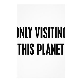 Papelaria Somente visitando este planeta