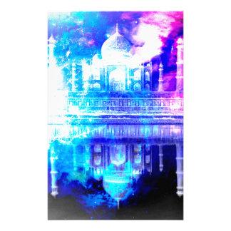 Papelaria Sonhos de Taj Mahal do céu da criação