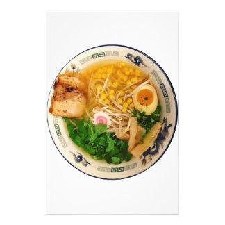 Papelaria Sopa de macarronete dos Ramen da carne de porco