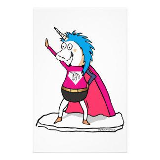 Papelaria Superhero Unicorn - unicórnio herói de excelente