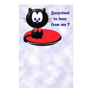 Papelaria Surpresa do gato preto