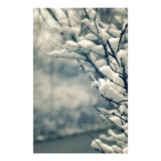 Papelaria Tapete do rato nevado da árvore