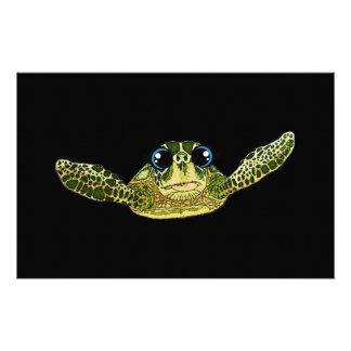 Papelaria Tartaruga de mar bonito